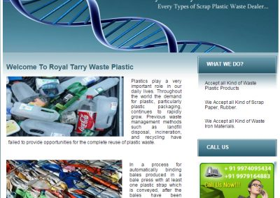 Royal Terry Waste Plastic