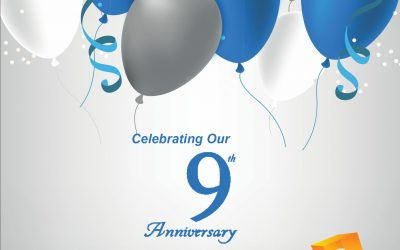 Celebrating 9 Years in Business!