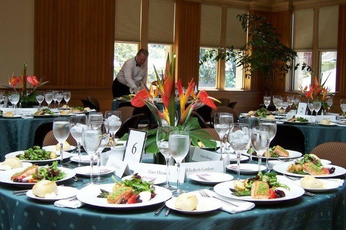 Website for catering business